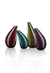 vasi in vetro lucido