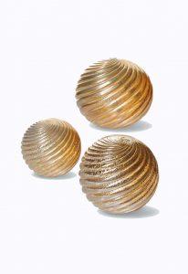 sfere in vetro