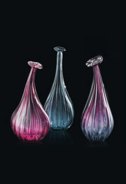 single-flower glass vases