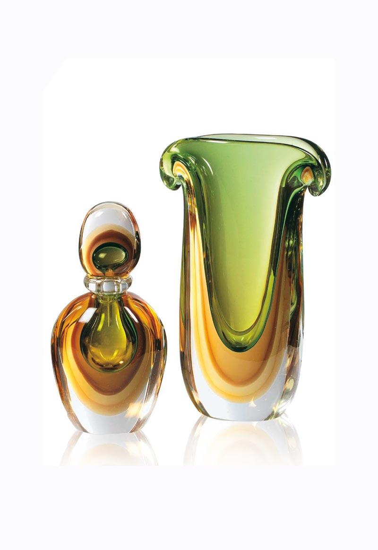 Flatus vasi e bottiglie in vetro lavorazione a sbruffi for Vasi ermetici vetro
