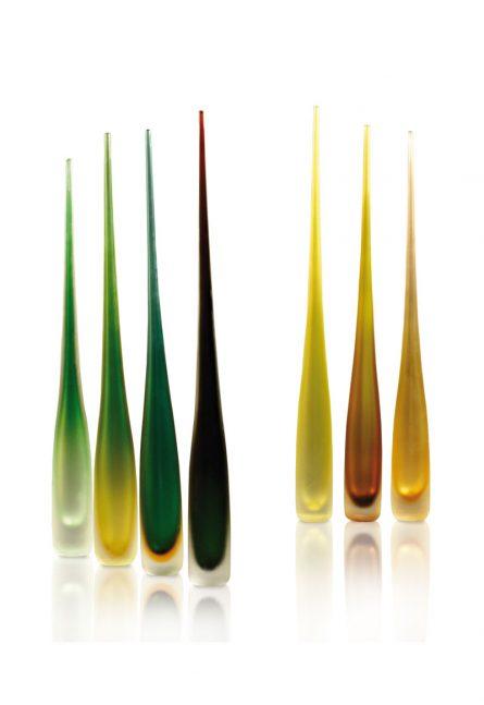 vasi monofiore in vetro