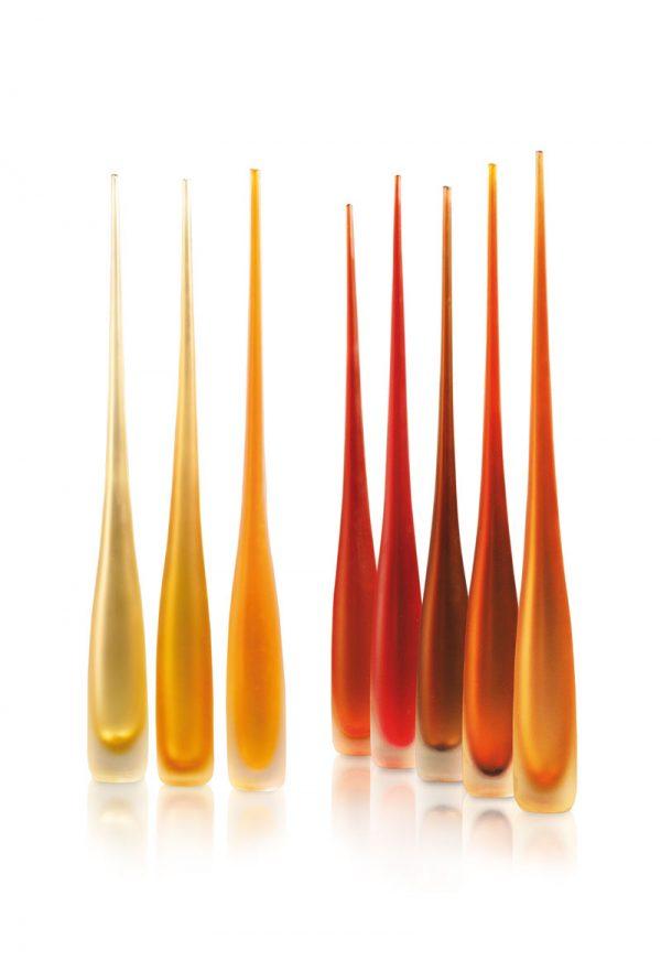 vases in murano glass