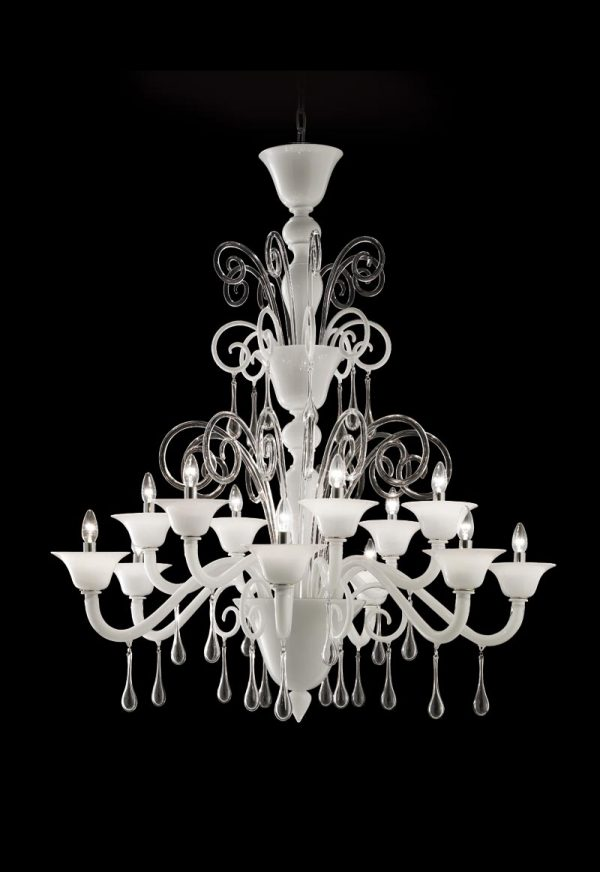 handmade chandelier with pendants