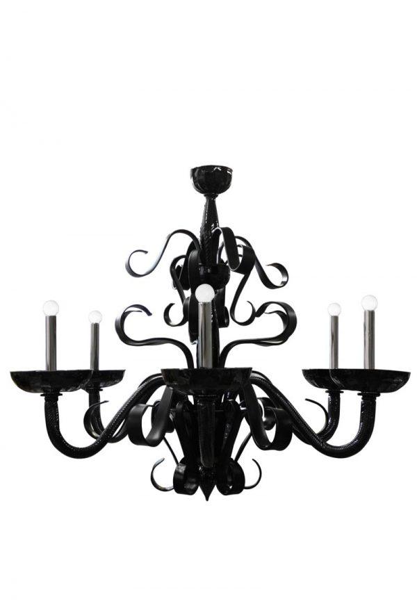 chandelier in murano artistic glass