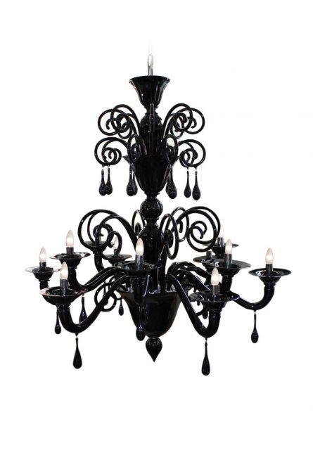 murano glass classic chandelier