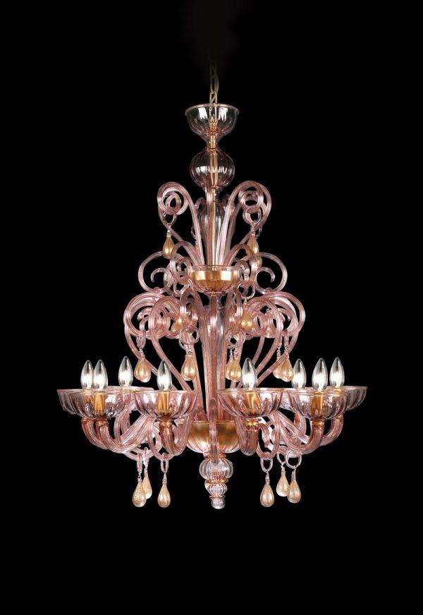 classic glass chandelier