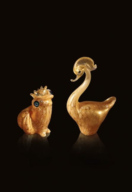 murano glass animals
