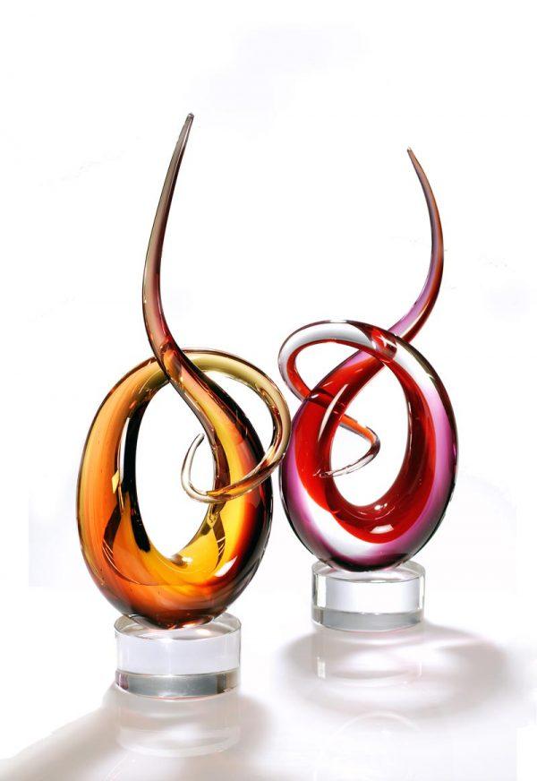 sculture in vetro