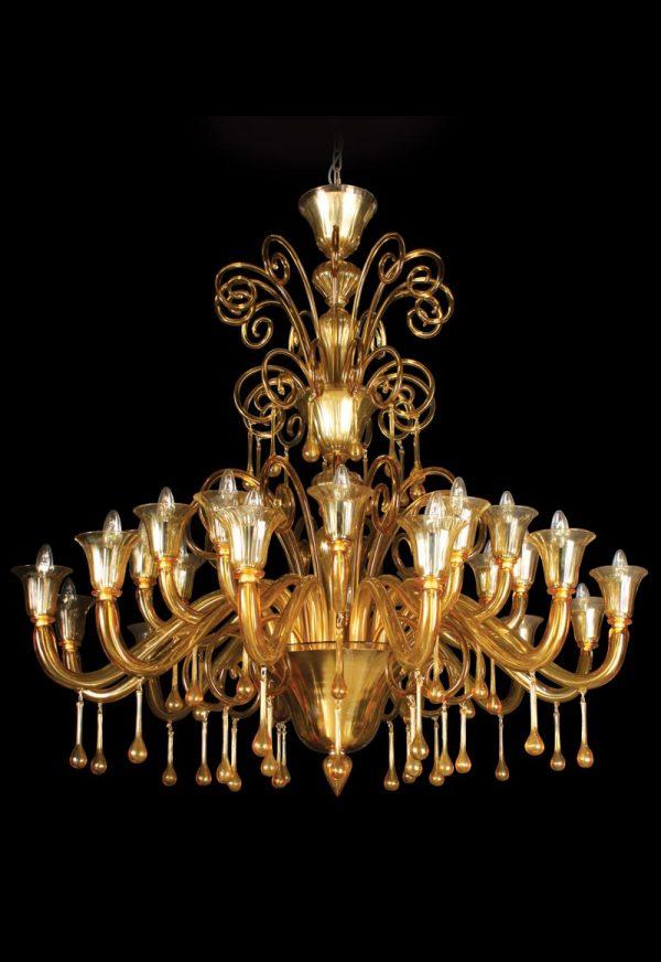 lampadario fatto a mano