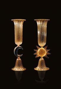 vasi in vetro fatti a mano